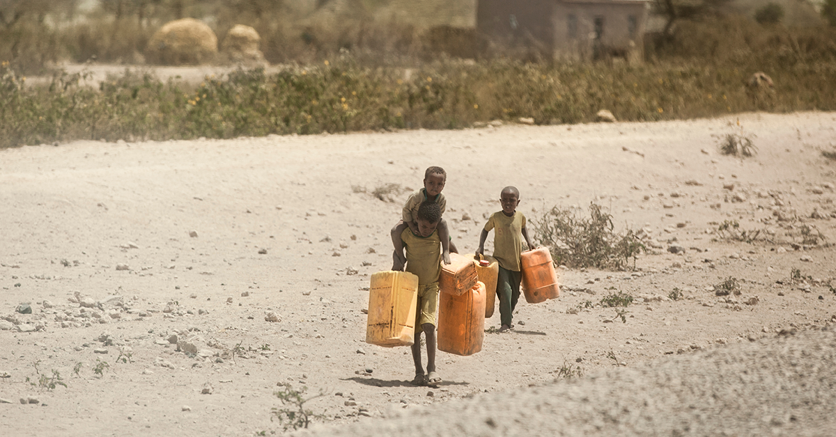 Afrika'da Susuzluk
