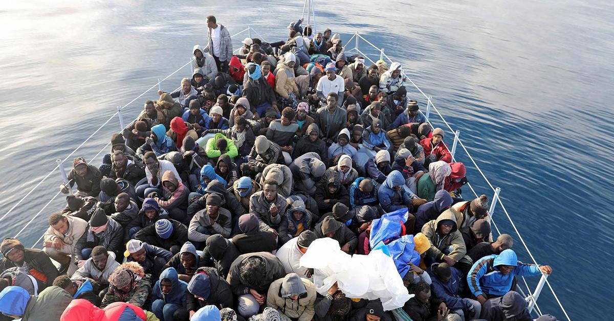 Libyada Göçmenler